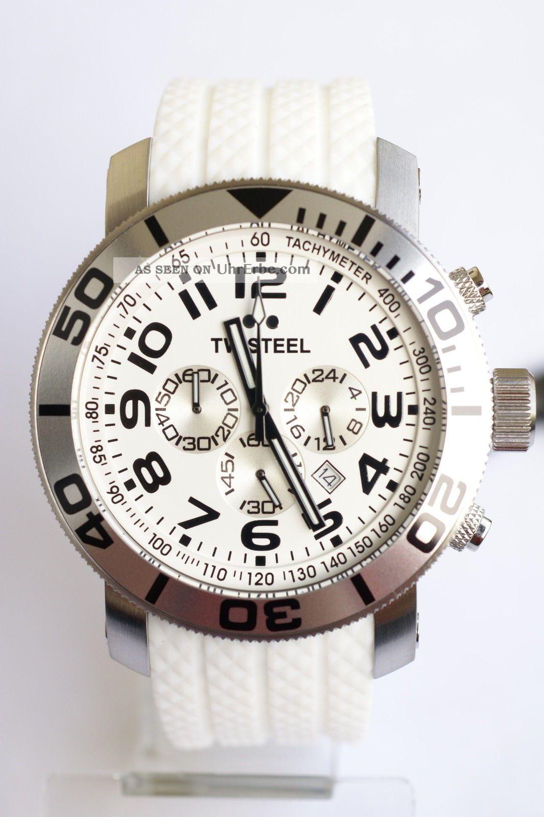 Tw - Steel 48mm - Xxl - Chrono; Tw95 Armbanduhren Bild