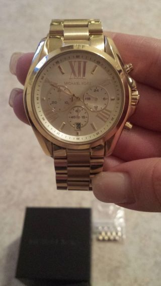 Chronograph Michael Kors Uhr Mk5605 /ovp Bild