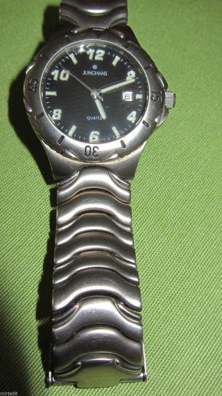 Junghans Armbanduhr Quarz Titan 41 / 2921 011 Bild