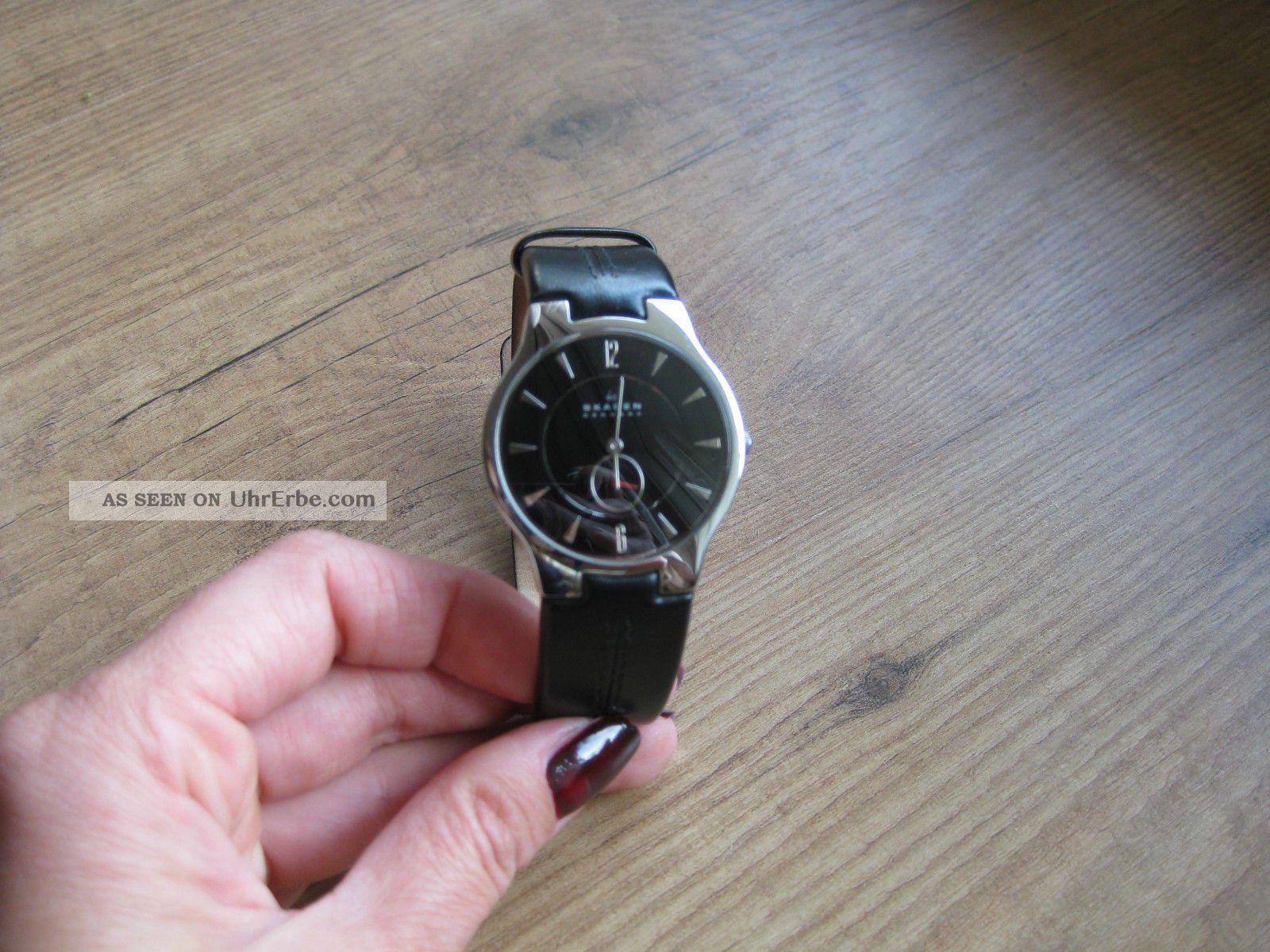 Skagen Herrenuhtr Armbanduhren Bild