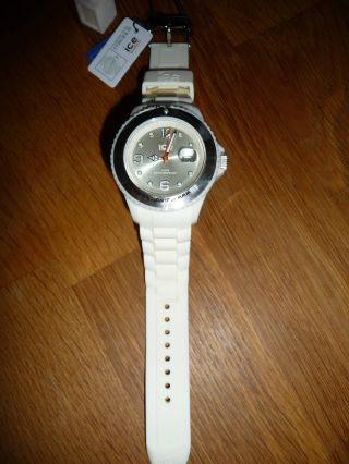 Ice - Watch Damen - /herren - Uhr,  Creme,  In Ovp,  Ct.  Wc.  B.  S.  10 Bild