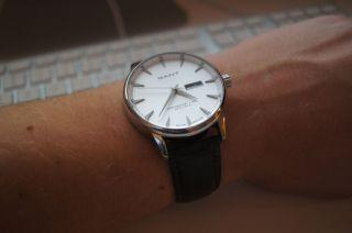 Gant Uhr Mit Schönem Lederarmband - Wie Bild
