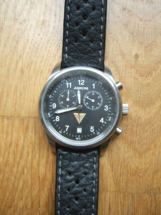Junkers Chronograph (höhenrekordflug F13) 6284/2105 Bild