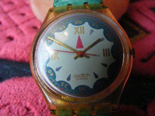 Swatch Uhr Spades - Gk 152 - RaritÄt (1993 - 95) Bild