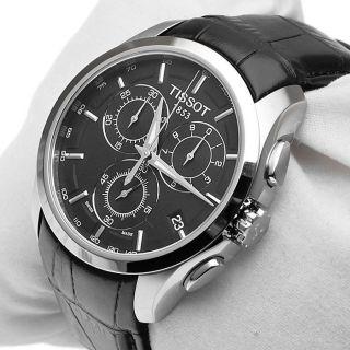 Tissot Couturier Herren T035.  617.  16.  051.  00 Chronograph Schwarz Tissot Couturier Bild