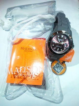 Madison York Candy Time Armbanduhr Uhr Taupe - - Bild