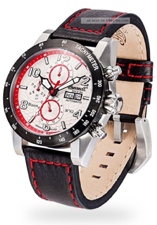 Ingersoll - Bison N0.  62 - In1407whrd Herrenarmbanduhr Armbanduhren Bild