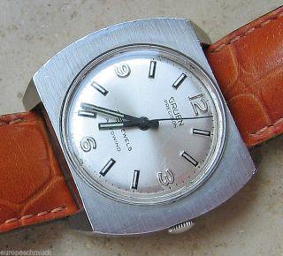 Uhren Sammleruhr Gruen Precision Armband Uhr Herren Uhr Luxus Uhr Antik Watch Bild