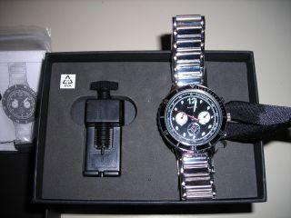 Tcm Tchibo Edelstahl - Automatikuhr Uhr Herren Damen Und Ovp Bild