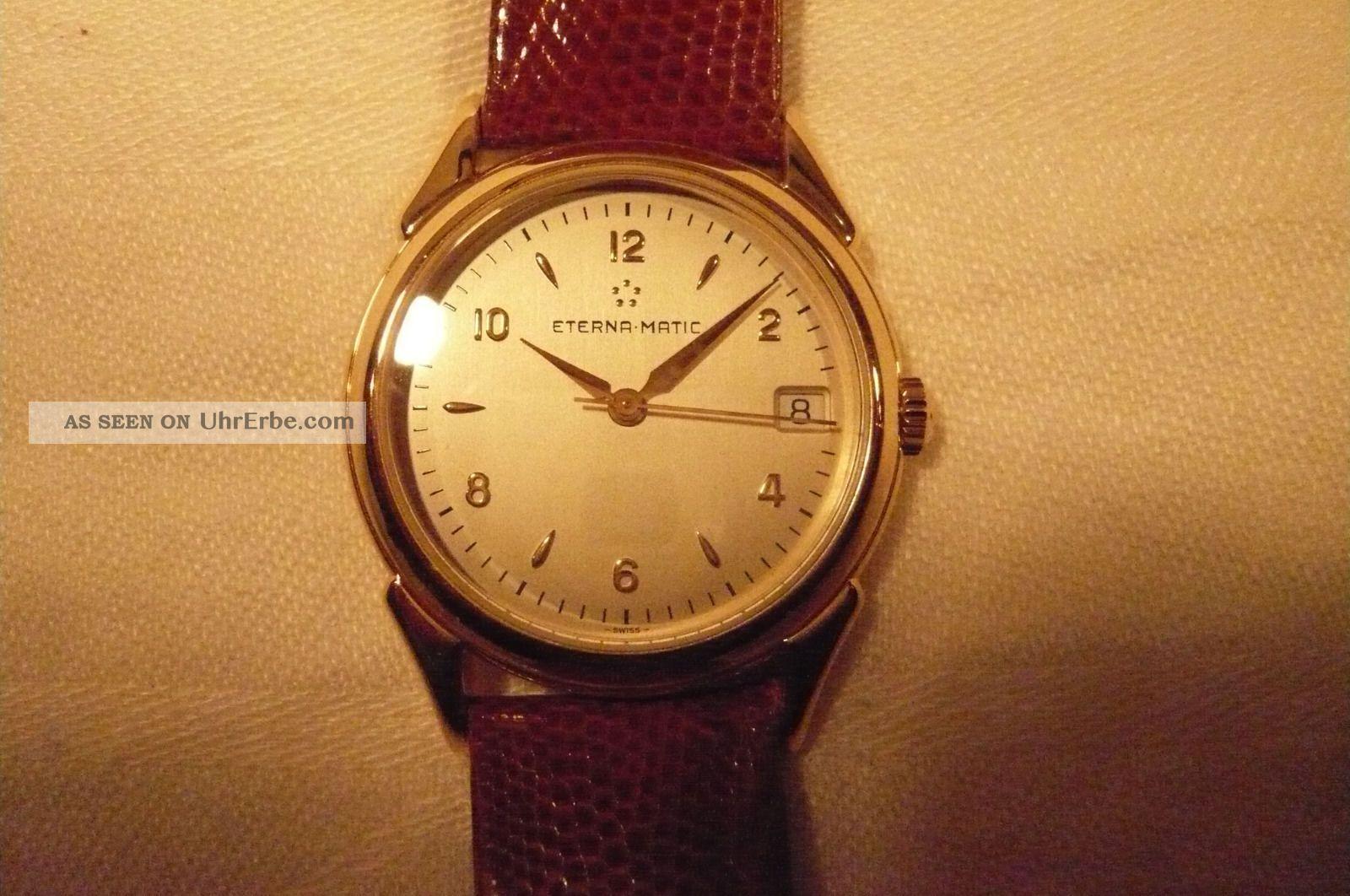 Eterna - Matic 1948 Mit Nach Revision Armbanduhren Bild