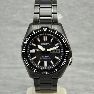 Herrenuhr Seiko Diver Skz329k1 Automatik Tag Datum Automatic 20 Bar Wasserdicht Bild