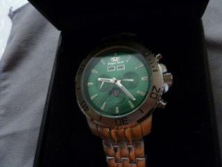 Tolle,  Royal Swiss Atomatik Uhr - - Glas,  Boden Und Band Noch Folie Drauf Bild