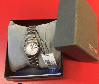 Seiko Damen - Armbanduhr Xs Seiko 5 Analog Automatik Edelstahl Symc07k1 Neu/ovp Bild