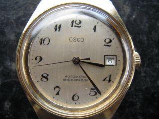 Osco Automaic Uhr Bild