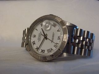 Rolex Datejust Turn - O - Graph Referenz 16264 Top - Bild