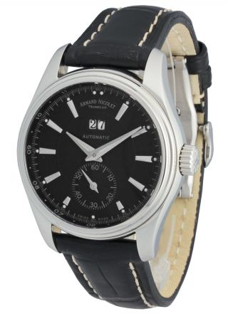 Armand Nicolet M02 Big Date & Small Seconds 9646a - Nr - P914nr2 Bild