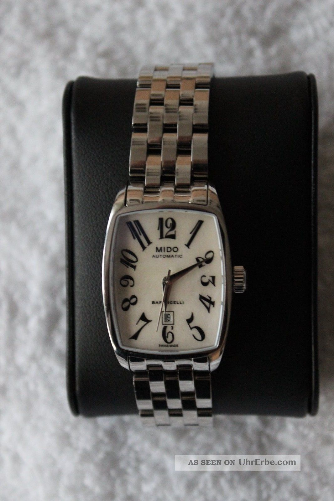 Mido Baroncelli Tonneau Lady Sma St Damenuhr Armbanduhren Bild