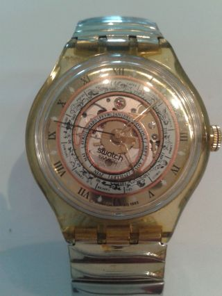 Swatch Serti Misterieux 1994 (sak113) Automatic Bild