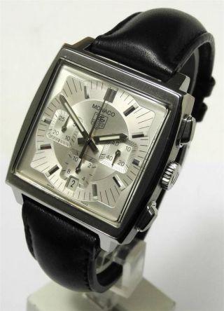 Tag Heuer Monaco Chronograph Automatic Cw2112 - Fc6171 Aus 2002 Bild