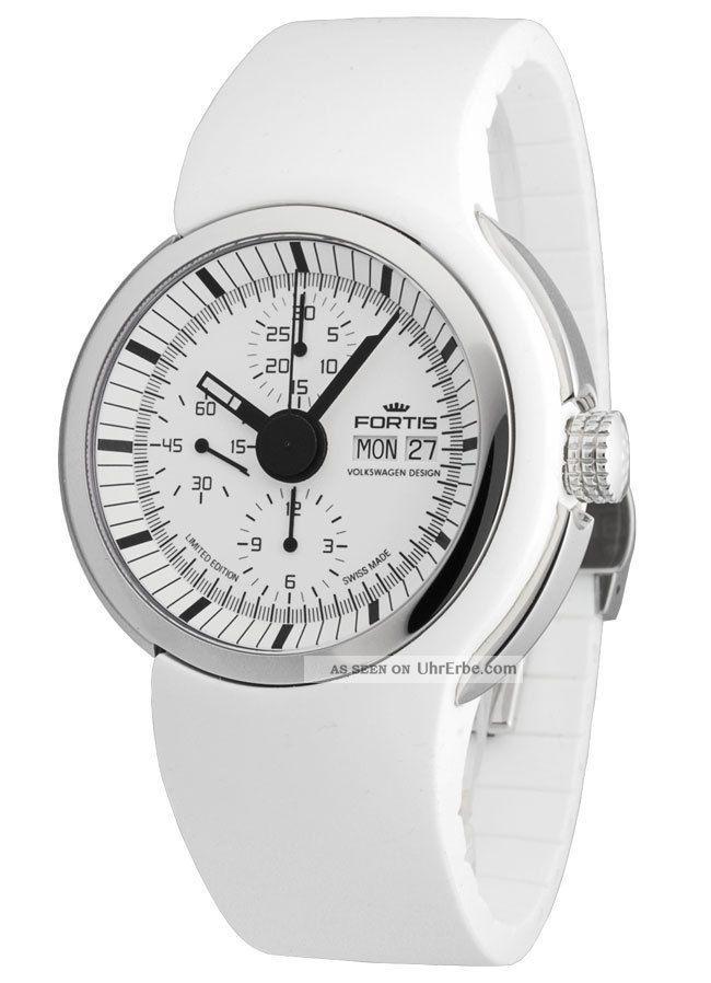 Fortis Spaceleader Chronograph Limited Edition Volkswagen Design 661.  20.  32 Si.  02 Armbanduhren Bild