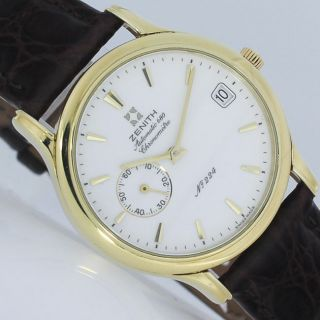 Zenith Automatic 680 Chronometre Limited Gold Ø 36mm Uhr Ref.  300030680 Bild