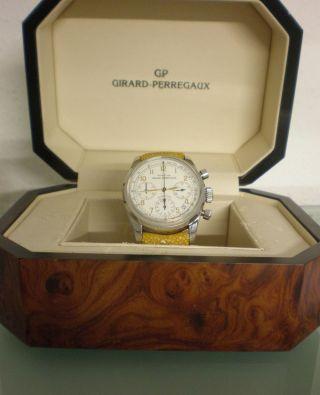 Luxus Uhr Girard Perregaux Chronographe Automatique Automatik Armbanduhr Bild