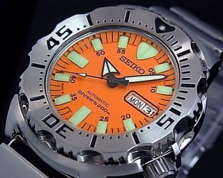 Nagelneu Seiko Skx781j1 Japan Edition - 5 Automatik Monster Orange Diver ' S200m Bild
