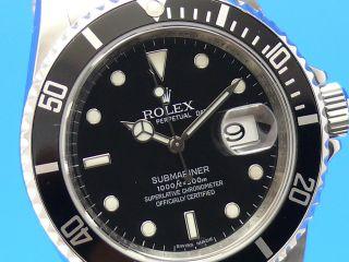 Rolex Submariner Date 16610 Aus 2010 Vom Uhrencenter Berlin Bild