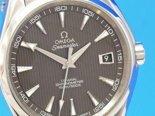 Omega Seamaster Aqua - Terra Co - Axial 41.  5 Mm Auch Ankauf Von Luxusuhren Bild