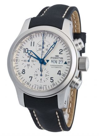 Fortis B - 42 Pilot Professional Automatik Chronograph Day Date 635.  10.  12 L.  01 Bild