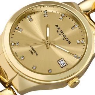 Damen Armbanduhr Akribox Xxiv Ak608yg Diamond Twist / Schweizer Uhr Bild