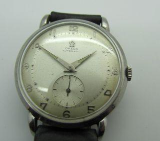Omega Armbanduhr Automatic 40er Jahre Hau Bild