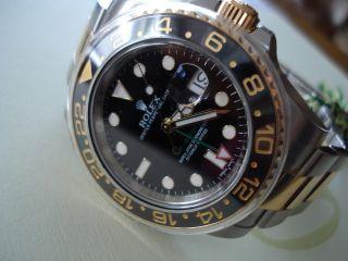 Rolex Gmt - Master Ll.  Stahl - Gold.  Ref,  : 116713ln. Bild
