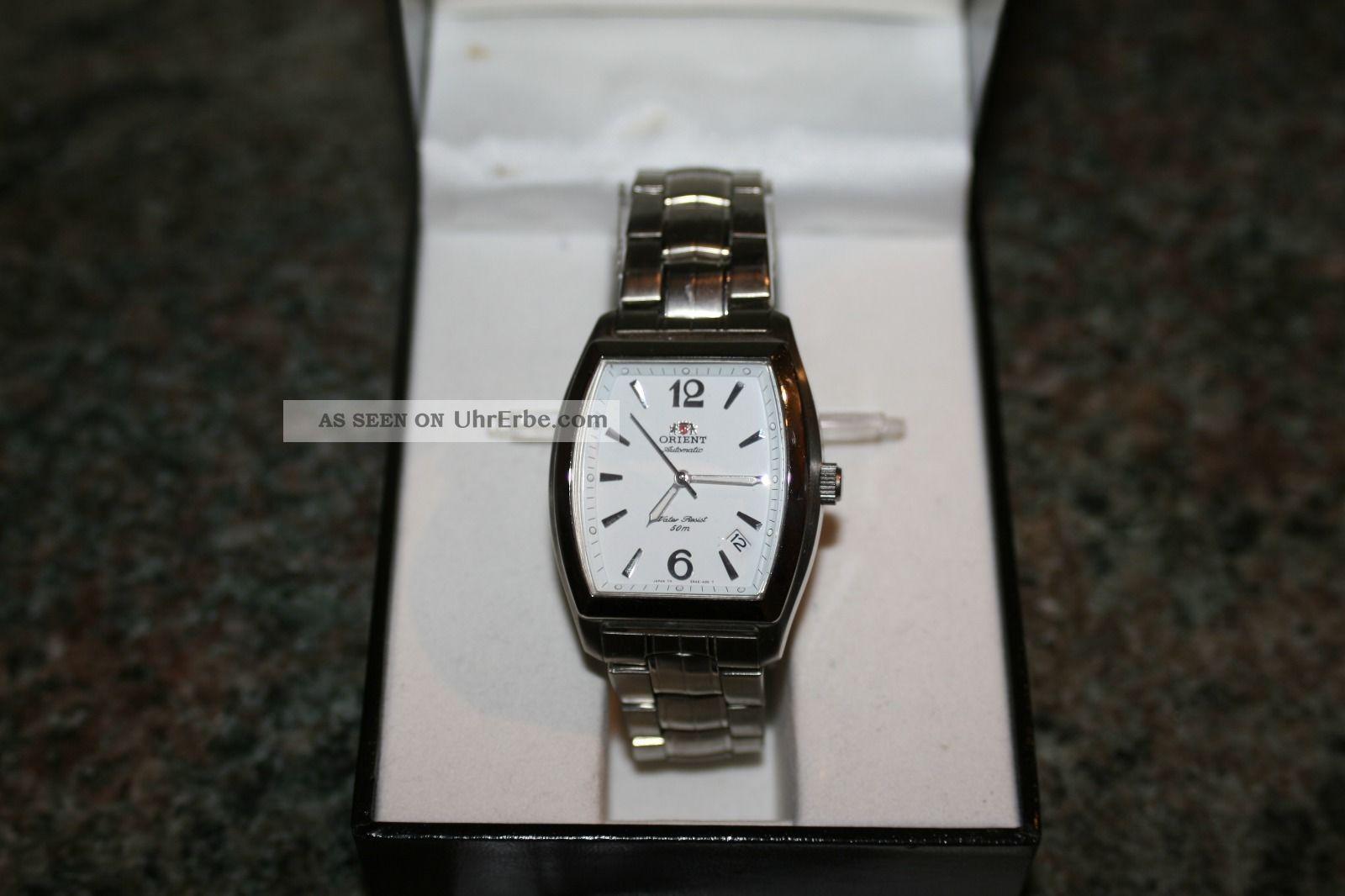 Orient Uhr Classic Automatik Herrenuhr Mit Datum Armbanduhren Bild