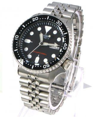 Nagelneu Seiko Skx007k2 5 Automatik Jubilee Armbanduhr Scuba Diver ' S 200m Bild