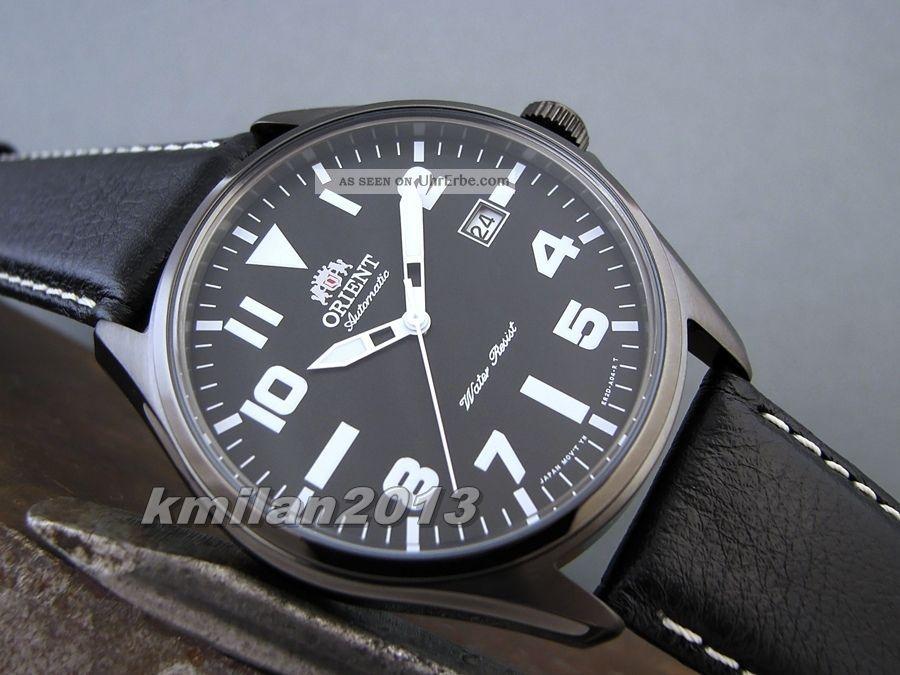 Orient Uhr Classic Automatik Herrenuhr Edelstahl Mit Datum Fer2d009f0,  Fer2d00an0 Armbanduhren Bild