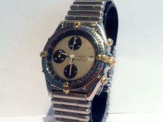 Breitling Chronomat Automatic - Stahl/gold 18k Reiter - Stahl Gliederband Rouleaux Bild