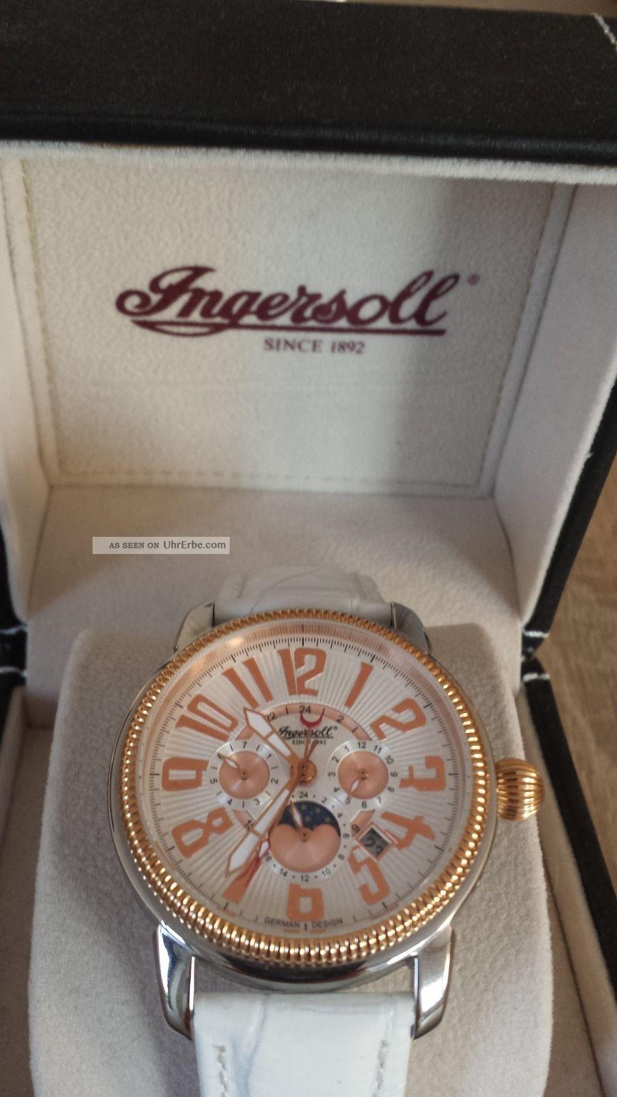 Hochwertige Ingersoll Automatik Damen Armbanduhr Modell Sumter Armbanduhren Bild