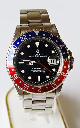 Rolex Gmt Master 16700 S Serie Aus 1993 Bild