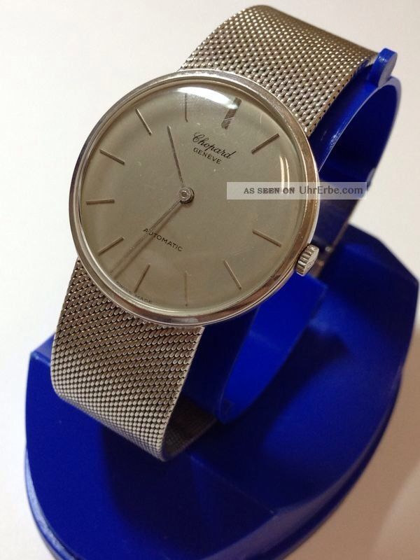 Chopard L.  U.  C Weissgold 750er Ø34mm Automatik Mikrorotor Superflache Uhr Armbanduhren Bild