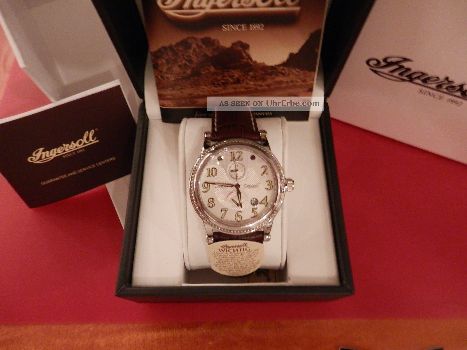 Ingersoll Herren Armbanduhr Kuba In 4702 Sl Armbanduhren Bild