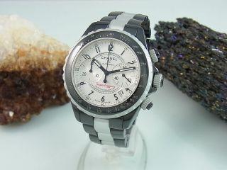 Chanel J12 Chronograph Automatik Superleggera Keramik / Alu Herrenuhr H2039 Bild