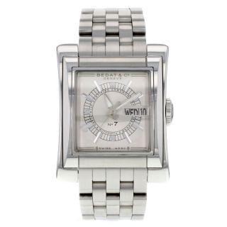 Bedat & Co Nr7 - B797.  011.  620 - Edelstahl Automatic Herren Uhr Bild