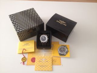 Breitling For Bentley Le Mans A22362 Full Paket Limited Edition 250 Stück Bild