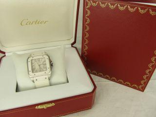 Cartier Santos 100 Damenuhr Automatic Ref: 2878 Bild