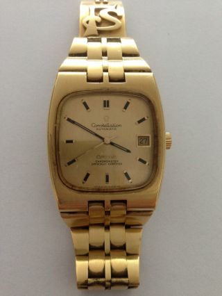 Omega Constellation,  Automatic In Massiv Gold Bild