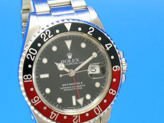 Rolex Gmt - Master Ii 16710 Auch Ankauf Von Luxusuhren Unter 030 - 79014692 Bild
