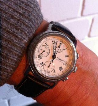 Herrenarmbanduhr Tissot Automatic Chronograph Valjoux 7750 Bild