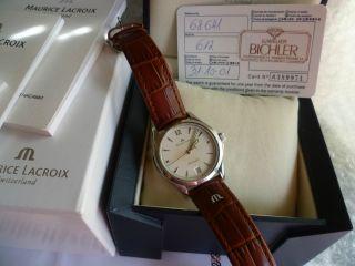 Maurice Lacroix Les Classique Ref:68641 Automatik Date - Box,  Papier Bild