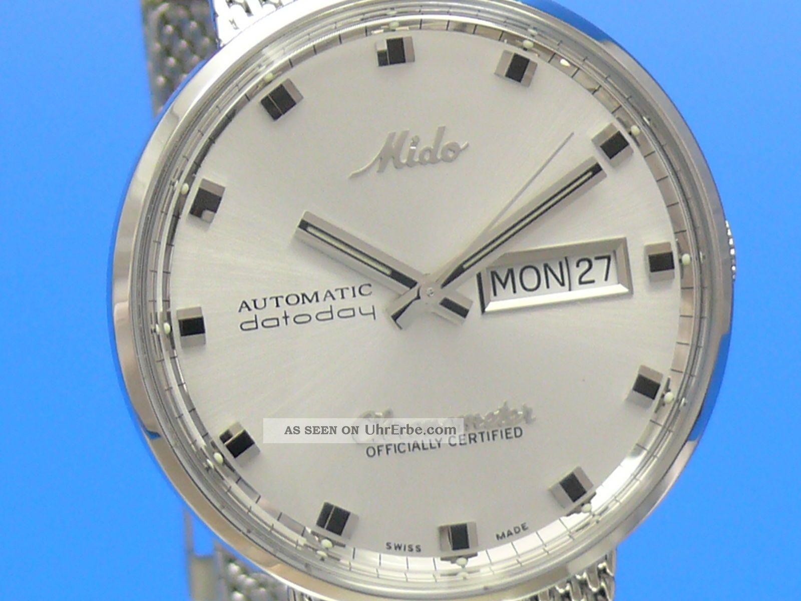 Mido Herrenuhr Commander Chronometer M84294c111 Uhrencenter Berlin Armbanduhren Bild